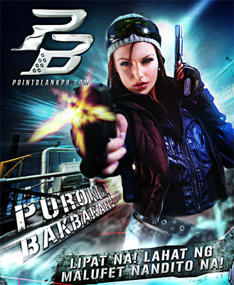 Point Blank Philippines poster - blankpixels.com