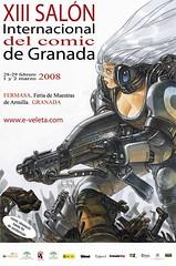 Cartel del Salón del Cómic 2008