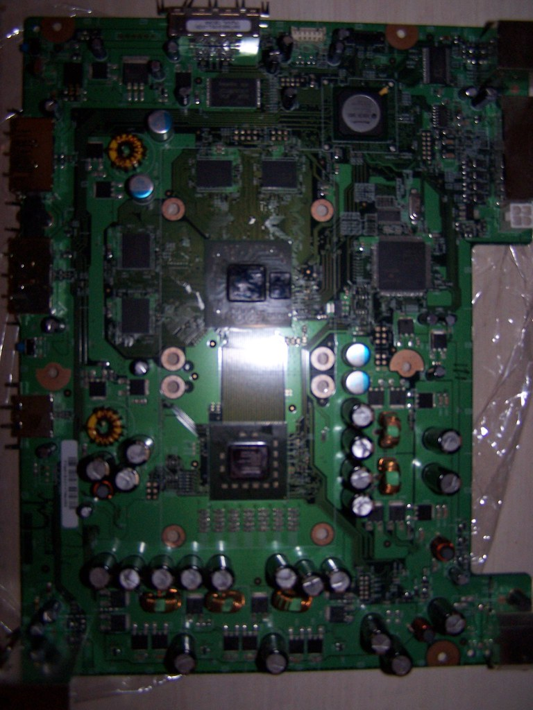 Xbox 360 mobo-top