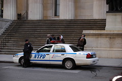NYPD Ford Crown Vic (Ma-Eh) Tags: street new york city usa ford apple car wall hall big memorial respect manhattan united police nypd victoria national cop vic crown states lower cpr federal polizei department policia courtesy interceptor professionalism fsd2583
