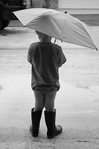 Rain, rain, go away...
