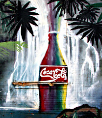 Fountain of Fizz (Professor Bop) Tags: nyc newyorkcity advertising mural mosca canonpowershots3is professorbop