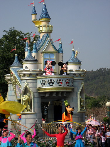 Disney on Parade: main characters
