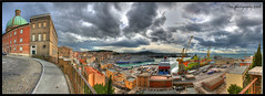 Porto di Ancona _ pano 2 _ (otrocalpe) Tags: cruise sky italy panorama port canon italia harbour pano porto 5d 24mm hdr marche ancona regione 6x3 supershot 24105usm otrocalpe top20hdrpanoramas dogshitsulmarciapiede