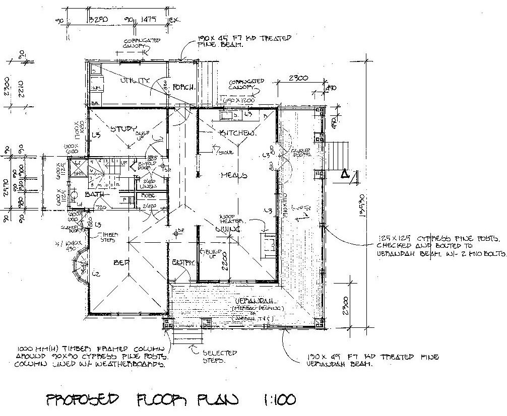 Cottage - new floorplan