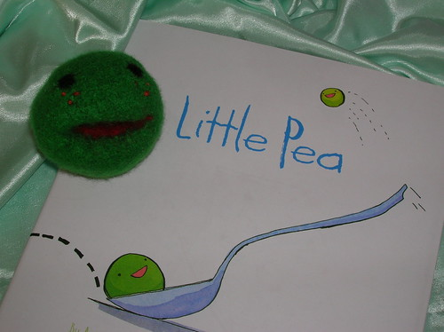 Little Pea toy with Book