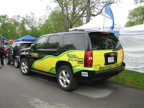 Corn ethanol SUV