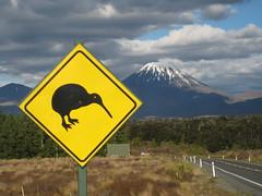 Kiwi sign, NZ