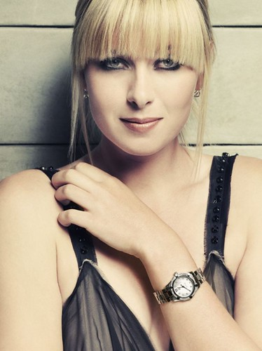 Maria Sharapova 莎拉波娃 - 2008 TAG Heuer 豪雅錶 Luxury Watch Promo shoot Picture