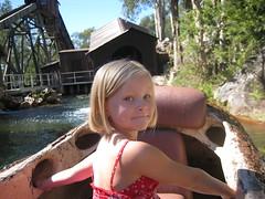 the log ride