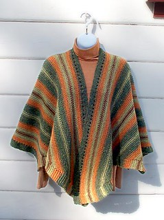 Ravelry Knit Ruana Pattern By Annie Dempsey