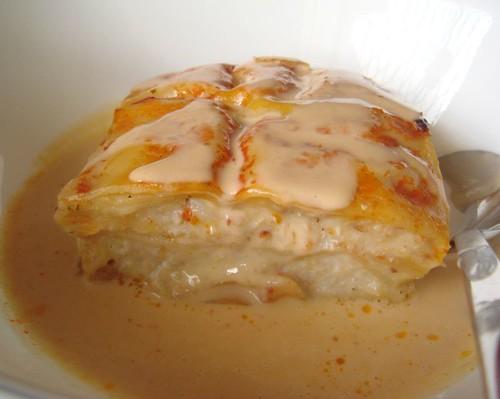 Sandcrab lasagne