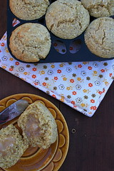 Crunchy Whole Grain Corn Muffins 3