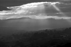 Amanecer nuboso (jtsoft) Tags: bw sunrise landscape asturias olympus nubes frommywindow e510 zd50200mm jtsoftorg
