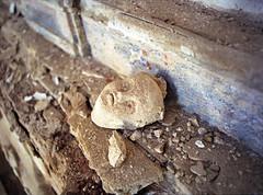 Gerace: decay (Giorgio Verdiani) Tags: film church stone mediumformat 645 pentax chiesa reggiocalabria 6x45 pietra calabria 400asa pentax645 sanmartino pelicola gerace medioformato mir26 tesidilaurea degreethesis
