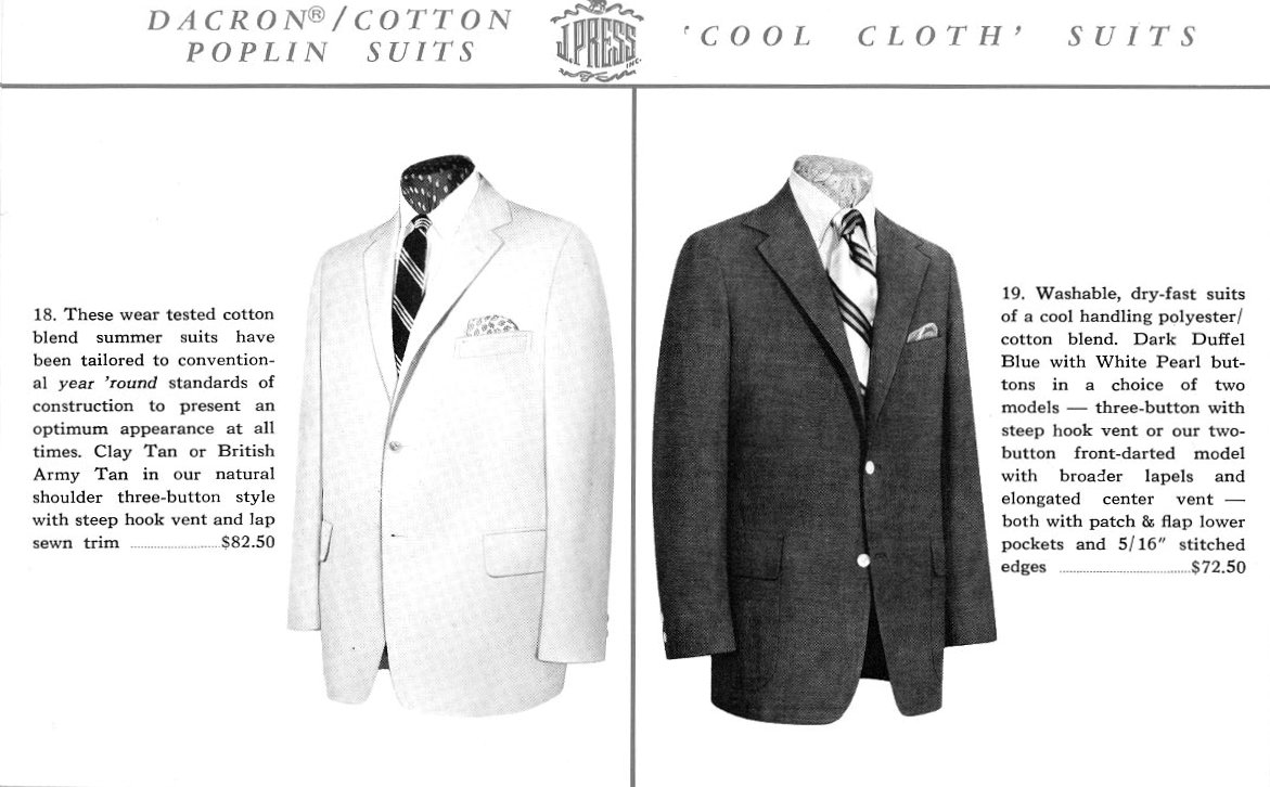Cool Cloth J. Press Suits
