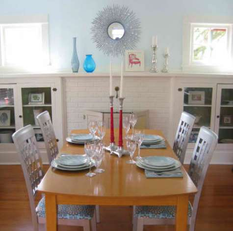 before: courtney's dining room makeover | Design