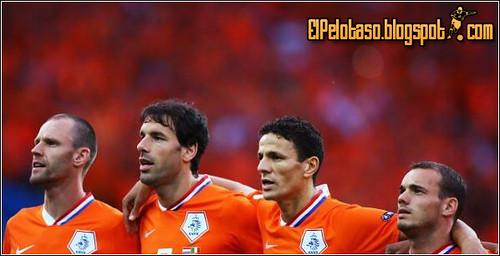 Ooijer, Van Nistelrooy, Boulahrouz y Snaijder