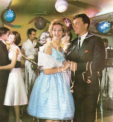 wish my parties were this fun (lorryx3) Tags: blue party dress balloon saxaphone 1960s 1970s