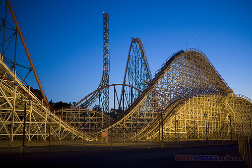 six flags magic mountain colossus. Superman, Goliath, Colossus by
