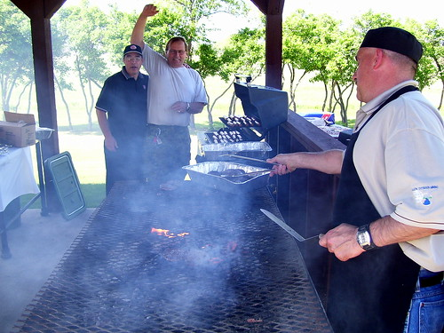 Salvation Army BBQ at Riverbend Institution