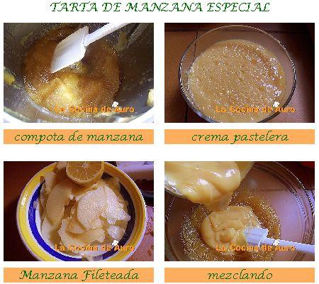 Tarta de Manzana Especial (paso a paso)