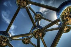 Atomium (Nilton Ramos Quoirin) Tags: brussels belgium bruxelles greatshot atomium hdr atom heysel aplusphoto
