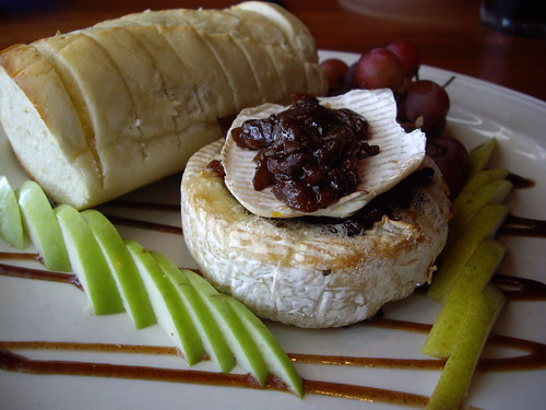 Baked Stuffed Brie