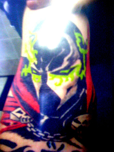 Twin Moon Creations: SPAWN tattoo by xclusivsauc3