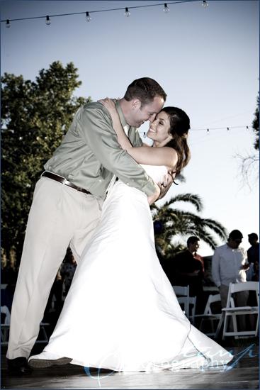 ChristanP Photography - Kuders Wedding First Kiss