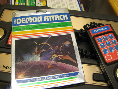 Intellivision & Demon Attack