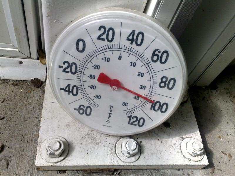 100 degrees fahrenheit