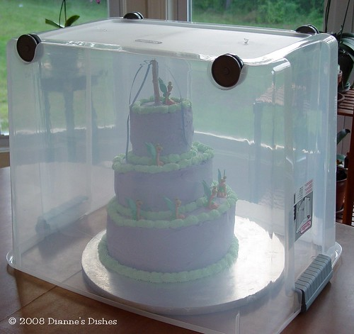 Tinkerbell Cake: Resting For The Party