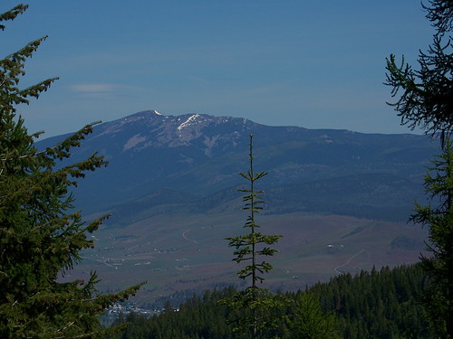 Baldy Mountain from the CC Divide