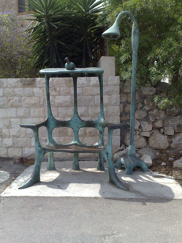 Special bus stop in Israel