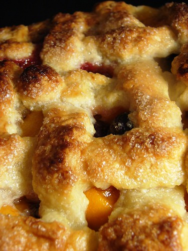 TENDER CRUMB: Peach Apricot Cherry Pie