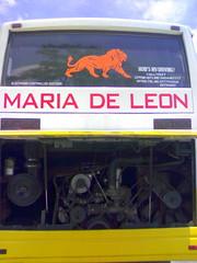 Maria De Leon Trans #11 (I-cocoy22-I) Tags: bus de maria leon sur trans ilocos laoag norte