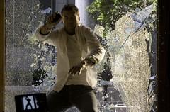 crashing glass.jpg (dugm2) Tags: cinema guy film set shoot bad korean commercial motorola hollywood guns shotgun bang stunts stuntman gunfire