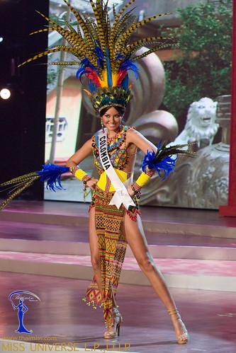Traje típico de Miss Colombia