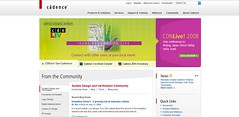 Cadence Homepage puts community front and center