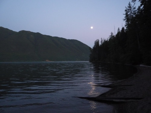 moonshine on lake mcdonald
