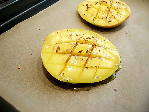 烤蜂蜜辣椒籽芒果-080716