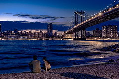 watch sunset with me? (Tony Shi Photos) Tags: park new york city nyc sunset ny downtown state harmony empire fulton     thnhphnewyork