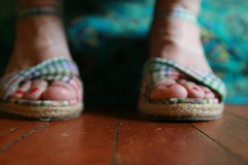 day 200, strappy summer sandals