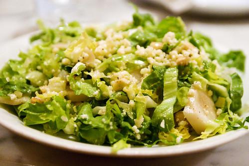 Escarole & Sunchoke salad