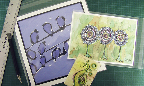 Prize 1 - Birds on Wires, The Indigo Sisters and Pollinate with a Bug