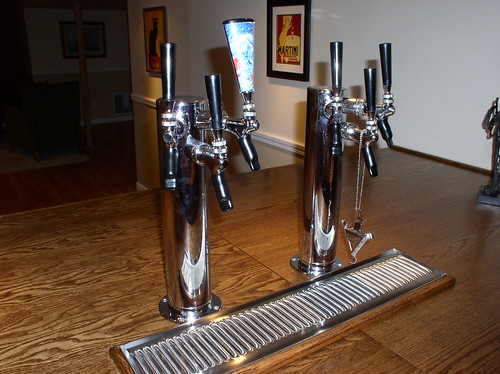 Building A Kegerator In My Basement Bar From Scratch