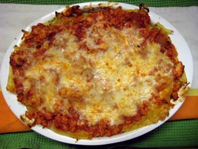 Boyish Lasagna