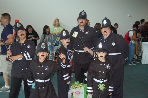 Comic Con 2008: Keystone cops