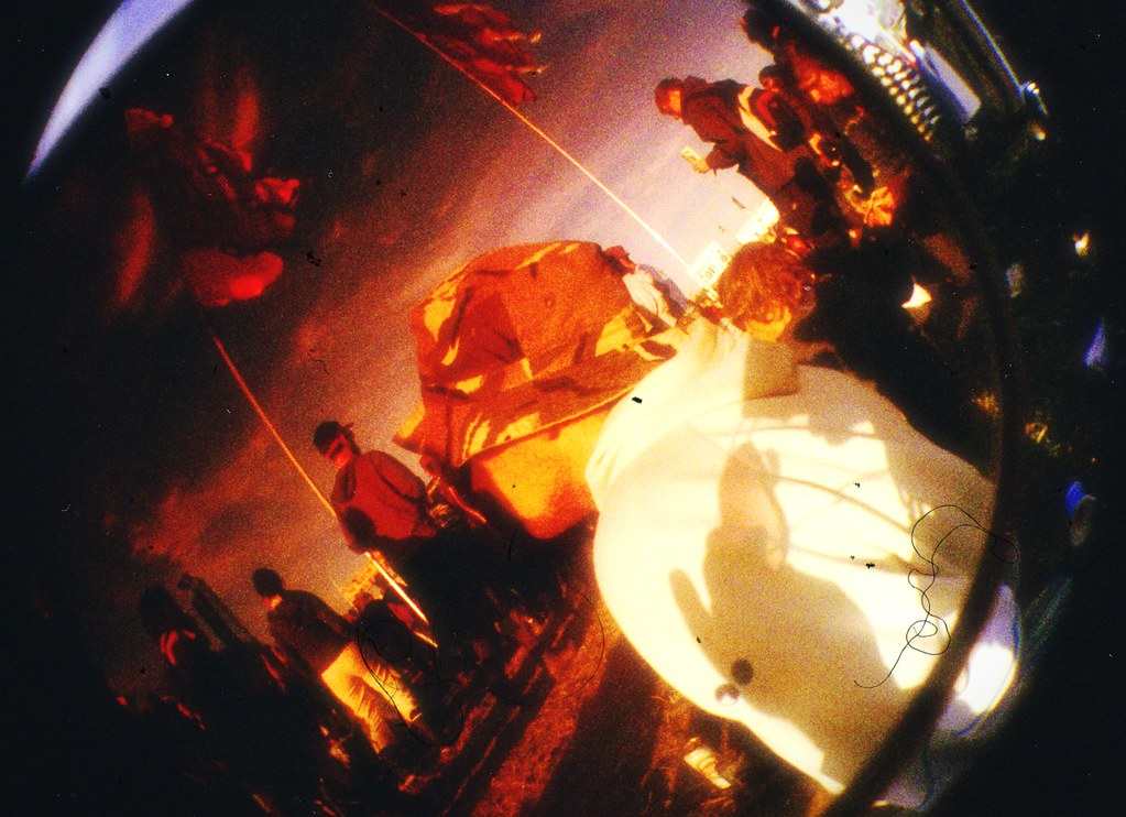 Glastonbury 2008 Fisheye Lomo